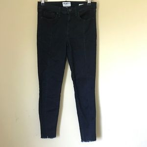 William Rast Perfect Ankle Skinny Jeans Raw Hem